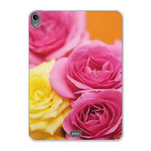 iPad Pro 11inch 第3世代 アイパッドプロ 11インチ タブレットケース タブレットカバー TPU ソフトケース A1980 A2013 A1934 A1979 005337 ピンク 黄色 花