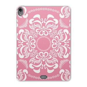 iPad Pro 11inch 第3世代 アイパッドプロ 11インチ タブレットケース タブレットカバー TPU ソフトケース A1980 A2013 A1934 A1979 006683 レース ピンク