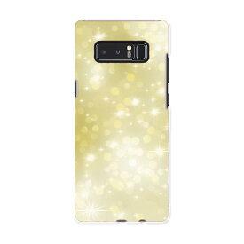 SC-01K Galaxy Note8 ギャラクシー ノートエイト sc01k docomo ドコモ スマホ カバー ケース スマホケース スマホカバー PC ハードケース キラキラ ゴールド クール 002166