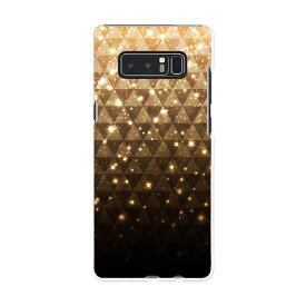 SC-01K Galaxy Note8 ギャラクシー ノートエイト sc01k docomo ドコモ スマホ カバー ケース スマホケース スマホカバー PC ハードケース ゴールド 金 キラキラ ラグジュアリー 005212