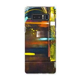 SC-01K Galaxy Note8 ギャラクシー ノートエイト sc01k docomo ドコモ スマホ カバー ケース スマホケース スマホカバー PC ハードケース インク ペンキ カラフル ユニーク 008007