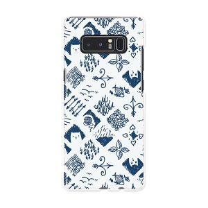 SC-01K Galaxy Note8 ギャラクシー ノートエイト sc01k docomo ドコモ スマホ カバー ケース スマホケース スマホカバー PC ハードケース ねこ 魚 かわいい 012053