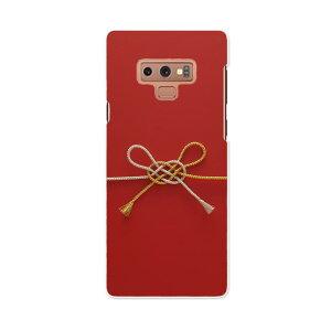 SCV40 Galaxy Note9 ギャラクシー ノートナイン au エーユー scv40 スマホ カバー スマホケース スマホカバー PC ハードケース 005004 赤 和風 写真