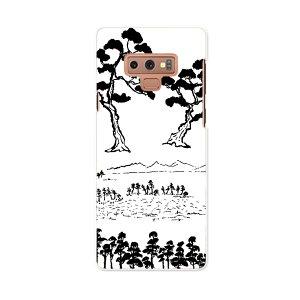 SCV40 Galaxy Note9 ギャラクシー ノートナイン au エーユー scv40 スマホ カバー スマホケース スマホカバー PC ハードケース 013227 木 和 絵