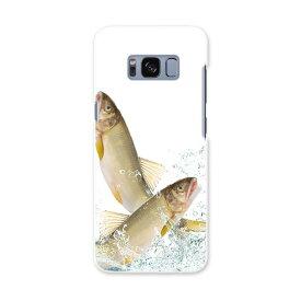 SC-02J Galaxy S8 ギャラクシー エス エイト sc02j docomo ドコモ スマホ カバー ケース スマホケース スマホカバー PC ハードケース 魚 さかな 水 みず アニマル 007741
