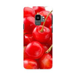 SC-02K Galaxy S9 ギャラクシー エスナイン docomo sc02k ドコモ スマホ カバー ケース スマホケース スマホカバー PC ハードケース 001597 さくらんぼ 果実