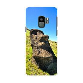 SCV38 Galaxy S9 ギャラクシー エスナイン au エーユー スマホ カバー ケース スマホケース スマホカバー PC ハードケース 003283 外国 写真 景色 風景