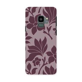 SC-02K Galaxy S9 ギャラクシー エスナイン docomo sc02k ドコモ スマホ カバー ケース スマホケース スマホカバー PC ハードケース 004291 花 シック 紫