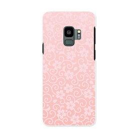 SC-02K Galaxy S9 ギャラクシー エスナイン docomo sc02k ドコモ スマホ カバー ケース スマホケース スマホカバー PC ハードケース 005701 花 和風 和柄