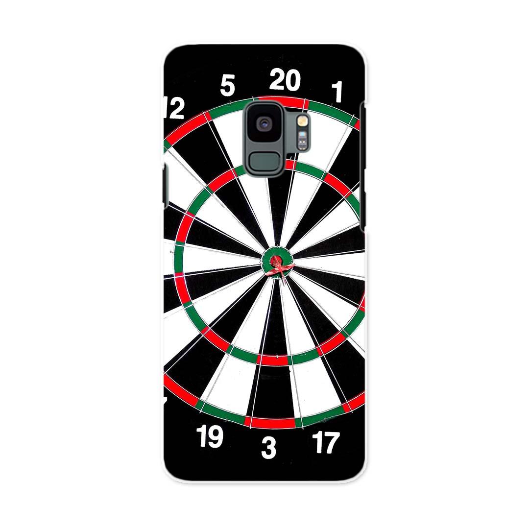 SCV38 Galaxy S9 ギャラクシー エスナイン au エーユー スマホ カバー ケース スマホケース スマホカバー PC ハードケース 005924 ダーツ ゲーム