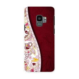SC-02K Galaxy S9 ギャラクシー エスナイン docomo sc02k ドコモ スマホ カバー ケース スマホケース スマホカバー PC ハードケース 006149 花 フラワー 模様