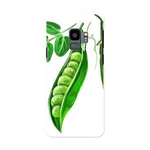 SC-02K Galaxy S9 ギャラクシー エスナイン docomo sc02k ドコモ スマホ カバー ケース スマホケース スマホカバー PC ハードケース 008858 イラスト 枝豆 グリーン 緑