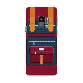 SC-02K Galaxy S9 ギャラクシー エスナイン docomo sc02k ドコモ スマホ カバー ケース スマホケース スマホカバー PC ハードケース 010287 カバン ファッション 赤