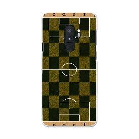 SCV39 Galaxy S9+ ギャラクシー エスナインプラス au エーユー スマホ カバー ケース スマホケース スマホカバー PC ハードケース 001236 サッカー スポーツ