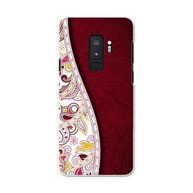 SC-03K Galaxy S9+ ギャラクシー エスナインプラス docomo sc03k ドコモ スマホ カバー スマホケース スマホカバー PC ハードケース 006149 花 フラワー 模様