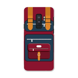 SC-03K Galaxy S9+ ギャラクシー エスナインプラス docomo sc03k ドコモ スマホ カバー スマホケース スマホカバー PC ハードケース 010287 カバン ファッション 赤