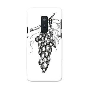 SC-03K Galaxy S9+ ギャラクシー エスナインプラス docomo sc03k ドコモ スマホ カバー スマホケース スマホカバー PC ハードケース 014232 ぶどう フルーツ 果物