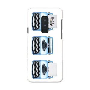 SC-03K Galaxy S9+ ギャラクシー エスナインプラス docomo sc03k ドコモ スマホ カバー ケース スマホケース スマホカバー PC ハードケース 015913 タイピングライター レトロ
