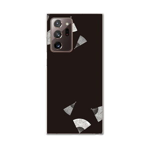 igcase Galaxy Note20 Ultra 5G SC-53A 専用ハードケース sc53a docomo ドコモ スマホカバー カバー ケース pc ハードケース 011486 和風 和柄 扇子