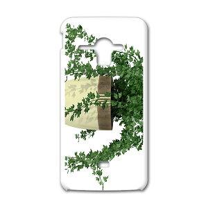 SHL22 AQUOS PHONE SERIE アクオスフォン セリエ au エーユー スマホ カバー ケース スマホケース スマホカバー TPU ソフトケース 植物 シンプル 緑 009713
