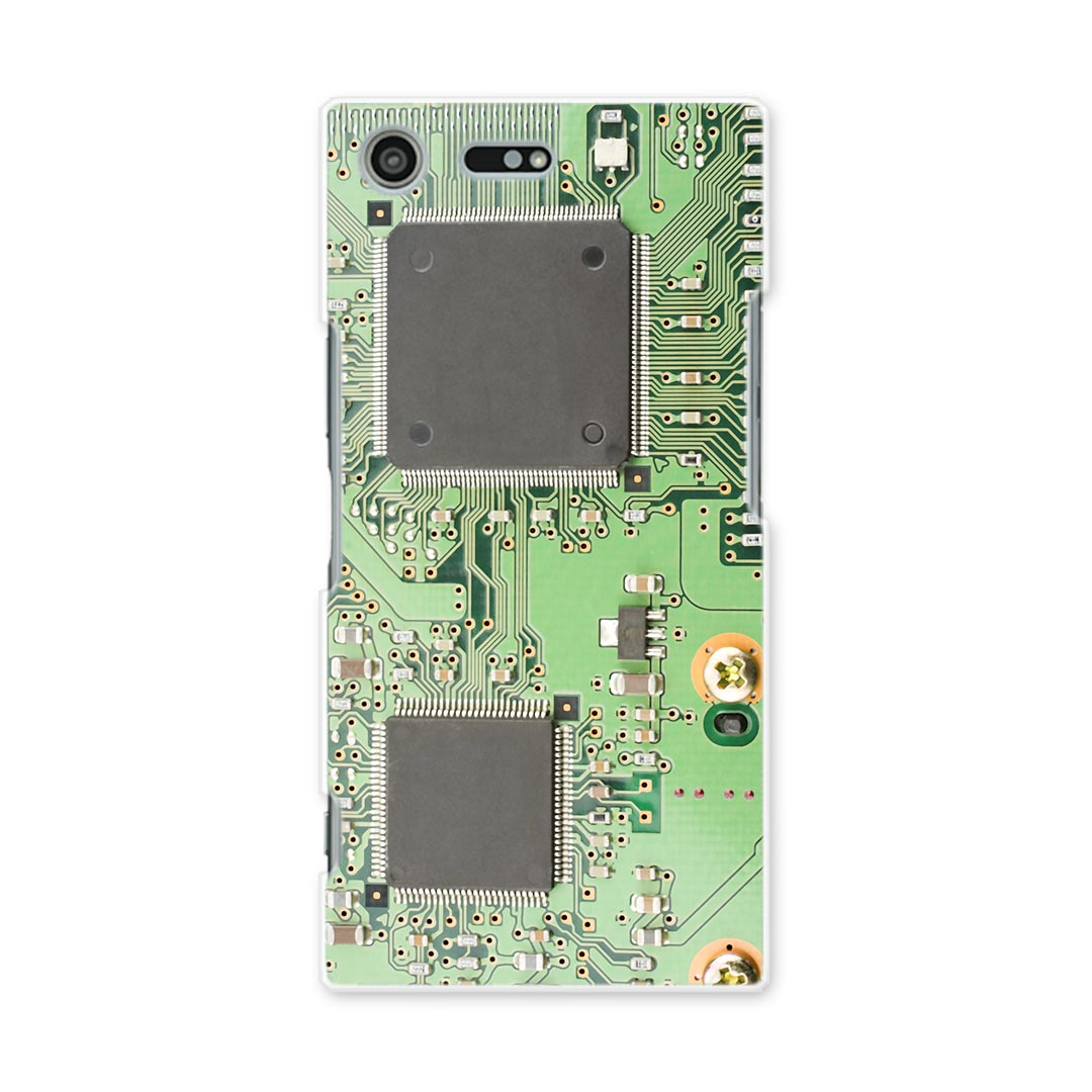 SO-04J Xperia XZ Premium エクスペリア XZ プレミアム so04j docomo ドコモ スマホ カバー スマホケース スマホカバー TPU ソフトケース 部品 ネジ 緑 010272