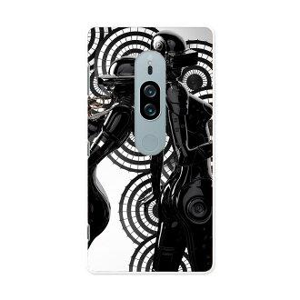 SOV38 Xperia XZ2 Premium 에크스페리아엑스젯트트프레미암 au에이유스마호카바 전기종 대응 있어 케이스스마호케이스스마호카바 PC하드 케이스 014988 악기인 흑백 음악