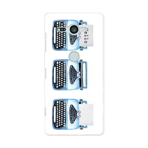 SO-05K Xperia XZ2 Compact エクスペリア エックスゼットツー コンパクト docomo so05k ドコモ スマホ カバー ケース スマホケース スマホカバー PC ハードケース 015913 タイピングライター レトロ