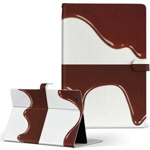 iPad 第6世代 Apple アップル iPad アイパッド ipad6 Lサイズ 手帳型 タブレットケース カバー レザー フリップ ダイアリー 二つ折り 革 001006 チョコレート