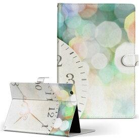 creative ZiiO10 ZiiO 10 creative クリエティブ その他1 タブレット ziio10 LLサイズ 手帳型 タブレットケース カバー フリップ ダイアリー 二つ折り 革 ラグジュアリー 時計 カラフル 006979