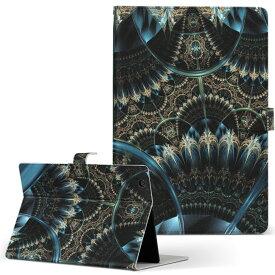 DELL Latitude 10 デル latitude10 LLサイズ 手帳型 タブレットケース カバー レザー フリップ ダイアリー 二つ折り 革 008203 青 ブルー ゴージャス