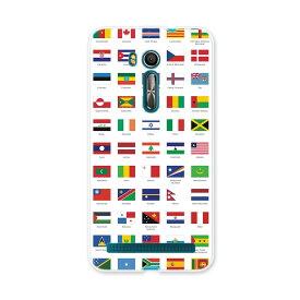 ZenFone Go ZB551KL ASUS zb551kl simfree SIMフリー スマホ カバー スマホケース スマホカバー PC ハードケース 外国 国旗 009360