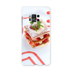 ZenFone AR zs571KL simfree SIMフリー スマホ カバー ケース スマホケース スマホカバー PC ハードケース ケーキ いちご ミルフィーユ 写真・風景 000193