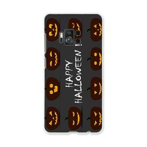 ZenFone AR zs571KL simfree SIMフリー スマホ カバー ケース スマホケース スマホカバー PC ハードケース  かぼちゃ ハロウィン 黒  013394