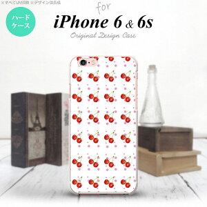 【iPhone6/iPhone6s】【スマホケース/スマホカバー】【アイフォン6/6s】iPhone6/iPhone6s スマホケース カバー アイフォン6/6s さくらんぼ・チェリー 白 nk-iphone6-179【メール便送料無料】