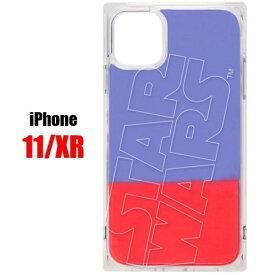ロゴ ブルー レッド スターウォーズ STAR WARS iPhone 11 XR スマホ ケース ネオンサンドケースPG-DLQ19B14SWiPhoneケース iPhone11 iPhoneXR アイフォン スマホケース アイフォンケース 携帯 ネオン サンド 耐衝撃 可愛い おしゃれ