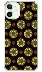 【送料無料】 フラワースポット チョコレートグリーン (クリア) / for iPhone 12 mini/Apple 【Coverfull】【スマホケース】【ハードケース】アップル iphone12 mini iphone12 mini ケース iphone12 mini カバー