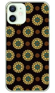 【送料無料】 フラワースポット チョコレートブルー (クリア) / for iPhone 12 mini/Apple 【Coverfull】【スマホケース】【ハードケース】アップル iphone12 mini iphone12 mini ケース iphone12 mini カバー ア
