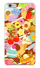 【送料無料】 Milk's Design しらくらゆりこ 「Sweet time」 / for iPhone 6 Plus/Apple 【Coverfull】【ハードケース】アップル iphone6 plus iphone6 plus ケース iphone6 plus カバー アイフォーン6プラス ケース アイフォーン6プラス カバー iphone 6 plus case