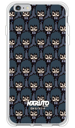 ナルト疾風伝シリーズ NARUTO×PansonWorks いっぱい うちはサスケ (ソフトTPUクリア) / for iPhone 6s Plus/Appleiphone6splus ケース iphone6splus カバー iphone 6s plus ケース iphone 6s plus カバー アイフォン6sプラス ケース アイフォン6sプラス カバー