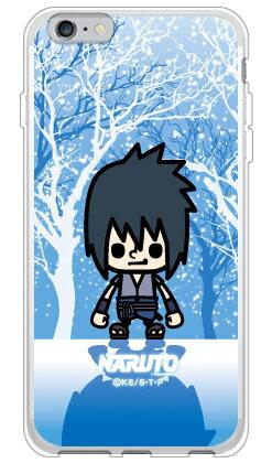 【光沢なし】 ナルト疾風伝シリーズ NARUTO×PansonWorks 冬景色 うちはサスケ (ソフトTPUクリア) / for iPhone 6s Plus/Appleiphone6splus ケース iphone6splus カバー iphone 6s plus ケース iphone 6s plus カバー アイフォン6sプラス ケース