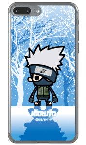 ナルト疾風伝シリーズ NARUTO×PansonWorks 冬景色 はたけカカシ (ソフトTPUクリア) / for iPhone 8 Plus/7 Plus/Appleアップル iphone8 plus iphone7 plus ケース カバー アイフォーン8プラス アイフォーン7プラス