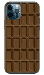 【送料無料】 チョコレート TYPE2 ブラウン (クリア) / for iPhone 12/Apple 【SECOND SKIN】【平面】【受注生産】【スマホケース】【ハードケース】アップル iphone12 iphone12 ケース iphone12 カバー アイ