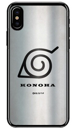 ナルト疾風伝シリーズ 額当て 木ノ葉隠れの里 (クリア) / for iPhone X/XS/Apple 【スマホケース】【ハードケース】iphoneX iphoneXS ケース iphoneX iphoneXS カバー iphone X iphone XS ケース iphone X iphone XS カバーアイフォーン10 10S ケース アイフォーン10