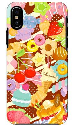 【送料無料】 Milk's Design しらくらゆりこ 「Sweet time」 / for iPhone X/Apple 【Coverfull】【ハードケース】iphoneX ケース iphoneX カバー iphone X ケース iphone X カバーアイフォーン10 ケース アイフォーン10 カバー iphoneケース iphoneカバー