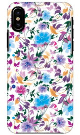 【送料無料】 breezeflower パープル produced by COLOR STAGE / for iPhone X/XS/Apple 【Coverfull】iphoneX iphoneXS ケース iphoneX iphoneXS カバー iphone X iphone XS ケース iphone X iphone XS カバーアイフォーン10 10S ケース アイフォーン10