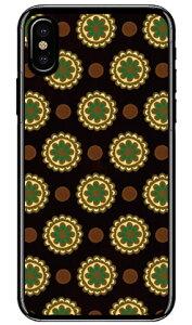 【送料無料】 フラワースポット チョコレートグリーン (クリア) / for iPhone X/XS/Apple 【Coverfull】iphoneX iphoneXS ケース iphoneX iphoneXS カバー iphone X iphone XS ケース iphone X iphone XS カバーアイフォー