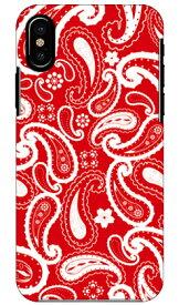 【送料無料】 ペイズリー レッド / for iPhone X/XS/Apple 【SECOND SKIN】【スマホケース】【ハードケース】iphoneX iphoneXS ケース iphoneX iphoneXS カバー iphone X iphone XS ケース iphone X iphone XS カバーアイフォーン10 10S ケース アイフォーン10
