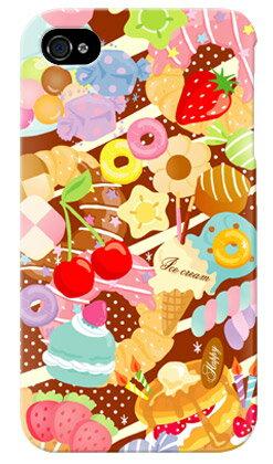 【送料無料】 Milk's Design しらくらゆりこ 「Sweet time」 / for iPhone 4S/au 【Coverfull】【ハードケース】iphone 4s ケース iphone 4s カバー iphone 4s case アイフォン4s ケース アイフォン4s カバーアイフォン4sケース アイフォン4sカバー 4s ケース 4s