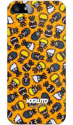 【光沢なし】 ナルト疾風伝シリーズ NARUTO×PansonWorks オールスターズ (オレンジ) (ソフトTPUクリア) / for iPhone SE/5/au 【ソフトケース】iPhone5カバー/アイフォン5/iphone5ケース/アイフォン 5/スマートフォン/スマホケース/ケース/エーユー