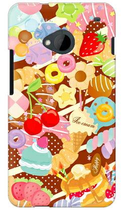 【送料無料】 Milk's Design しらくらゆりこ 「Sweet time」 / for HTC J One HTL22/au 【Coverfull】【全面】【受注生産】【スマホケース】【ハードケース】au HTL22 カバー HTC J One カバー HTC J One HTL22 カバー htcj スマホケース